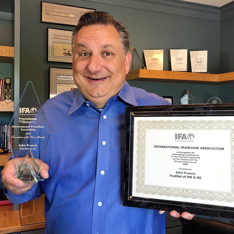 JF with IFA awards awards